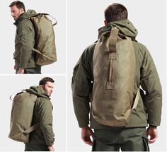 Outdoor Bags Tactical Backpack Bucket Bag Mountaineering Bag Travelling Bag