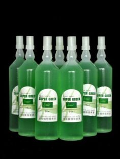 20 bottles of Super Green - Lucky Bamboo liquid fertilizer works like a magic. Crown Of Thorns Plant, Lucky Bamboo Plants, Fairy Garden Plants, Liquid Fertilizer, Super Greens, Spider Plants, Cool Plants, Lawn Care, Indoor Plants