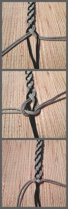 19.como hacer una pulsera de nudo infinito