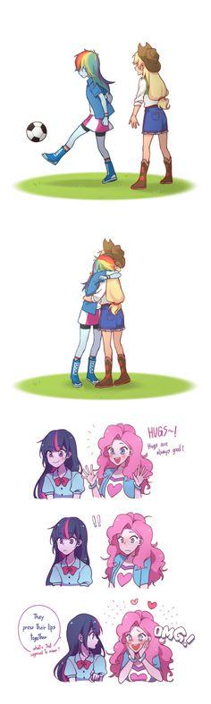 Make-Up Hug - Friendship is Magic