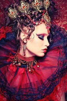 Halloween Gothique Lèvres Pumpkin Ghost Head Pendentif Femmes Fashion Collier Long