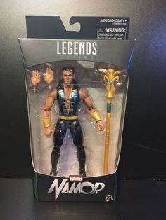 "2016 Walgreens Exclusive Marvel Legends Namor 6"" Inch"