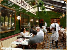 Le Diplomate, 14th & Q. Great brunch August 2015.