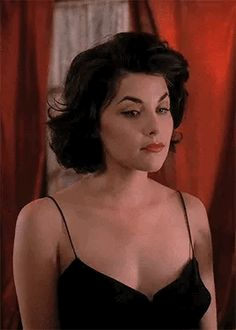 You can count on me to misbehave. Sherilyn Fenn, Audrey Horne, Laura Palmer, Bojack Horseman, David Lynch, Twin Peaks, Character Outfits, Hair Inspo, Aesthetic Pictures