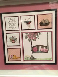 Make something like this for mothers day Shadow Box Art, Shadow Box Frames, 3d Paper Projects, Paper Crafts, Cool Cards, Diy Cards, Halloween Shadow Box, Box Frame Art, Damier