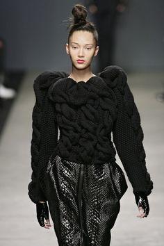 Knit Inspiration: Iceberg F/W 2009