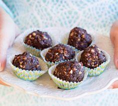 Chocolate cranberry balls