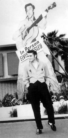 Elvis in Vegas 1956