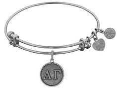 Angelica Jewelry collection Angelica Collection Delta Gamma Expandable Bangle - Style No. WGEL1228 via ------------ Pearls and All Jewelry ------------ Call now to order! 1-914-455-0991. Click on the image to see more!