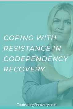 People who struggle with codependency don't find their way into recovery easily. Because they get their value in helping others, they ignore their own needs. In codependent relationships, we struggle to receive because it feels too vulnerable. We resist the process becasue it's hard to see our own behaviors. Learn how to be gentle with yourself in recovery.#codependent #codependency #resistance #recovery #mentalhealth Relationship Hurt, Relationship Problems, Codependency Recovery, Relapse Prevention, Grief Support, Be Gentle With Yourself, Improve Communication, Coping With Stress, Improve Mental Health
