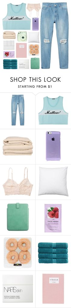 """""""someone who didn't love me well"""" by feels-like-snow-in-september ❤ liked on Polyvore featuring Monki, Brahms Mount, Smythson, H&M, Christy, NARS Cosmetics, Bench, living room, TalisLittleTag and gottatagrandomn3ss"""