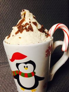 Lancer Kitchen goes holiday red and white: Peppermint Mocha Latte - http://lhslance.org/sNvoa