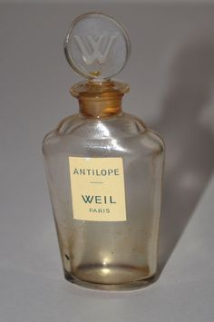 Weil Antilope Perfume Bottle - Quirky Finds Vintage