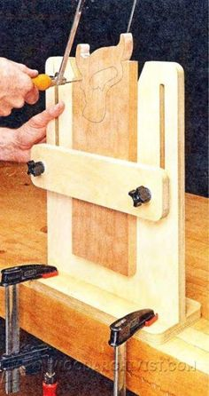 DIY Pull Saw Miter Box - Hand Tools Tips and Techniques | WoodArchivist.com                                                                                                                                                                                 More