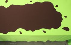 Peppa Pig Party Muddy Puddles Table
