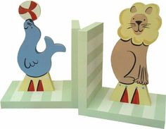 Circus Bookends | Jack and Jill Boutique