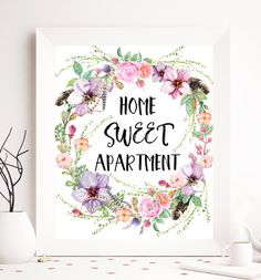 $5 Home printable home quote home print home wall by SoulPrintables