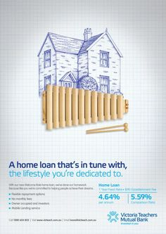Xylo, 10 Feet Tall, Victoria Teachers Mutual Bank, Print, Outdoor, Ads