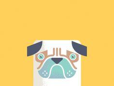 Pug  by Javier Garcia