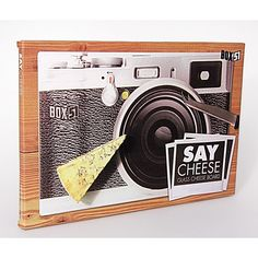 <p>The Say Cheese Novelty Cheeseboard is the perfect gift for any photography enthusiast who loves their cheese! Made from toughened glass for optimum durability, the non-slip cheeseboard features a camera design. It's sure to raise a smile amongst guests at any dinner party. - L.M.</p> <p><strong>Features:</strong></p> <ul> <li>Say Cheese Novelty Cheeseboard</li> <li>Camera design</li> <li>Made from toughened glass</li> <li>Non-slip pads</li> <li>Dimensions: 30.5 x 20.5cm ...
