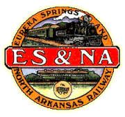 Eureka Springs Rwy.  Opened in 1882.  In 1899 it became the St. Louis and North Arkansas Rwy. and several other names before being closed in 1961.  Opened as a tourist R.R. called the  Eureka Springs and North Arkansas Rwy. in  1982-present.