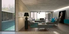 sistema arquitectura convergence house concept designboom