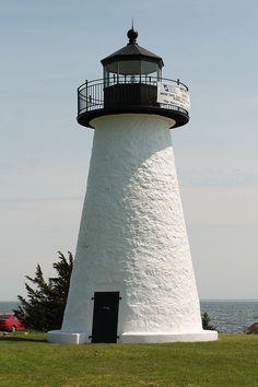 Ned's Point Lighthouse in Mattapoisett, MA