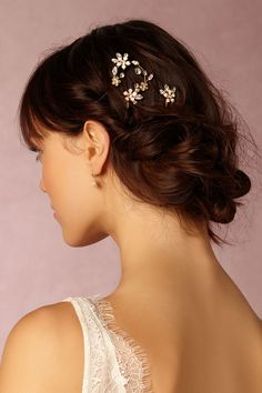 Moonflower Hairpins from BHLDN