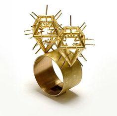 Philippe Sajet - cactus ring
