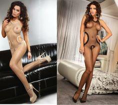 Ivette Livia Livco Corsetti Sex Bodystocking w24h