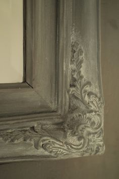 www.kalklitir.com  ;  when decorating mirror frame..