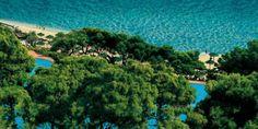 Villa del Parco & Spa, Forte Village Resort - Beach aerial view | Sardinia