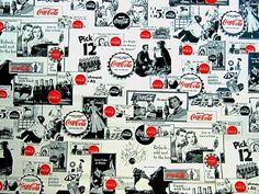 Coca Cola Vintage Wallpaper by BmoreUnique on Etsy Coca Cola Wallpaper, Always Coca Cola, World Of Coca Cola, Coke, Etsy, Affair, Vintage, Pepper, Simple