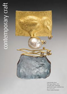 Society for Contemporary Craft: Robert Ebendorf Pearl Jewelry, Jewelry Art, Silver Jewelry, Fine Jewelry, Jewelry Design, Jewelry Making, Silver Bracelets, Contemporary Jewellery, Modern Jewelry