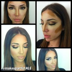 Last CONTOURING MAKE-UP class
