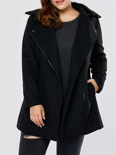 SHARE & Get it FREE | Plus Size Wool Blend Fur Collar CoatFor Fashion Lovers only:80,000+ Items • New Arrivals Daily • Affordable Casual to Chic for Every Occasion Join Sammydress: Get YOUR $50 NOW!