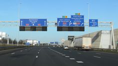 A4 Rotterdam - Amsterdam (extended) Motorway A4 in the Netherlands from Rotterdam to Amsterdam including the recently completed A4 between Schiedam and Delft. This is an extended version of the A4 Rotterdam - Den Haag video