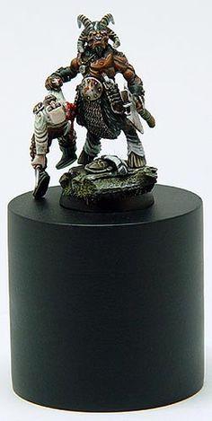 U.K. 2003 - Figurine Individuelle Warhammer - Demon Winner, le site non officiel du Golden Demon
