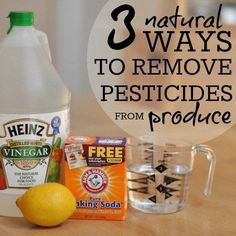 3 Natural Ways To Remove Pesticides From Produce » Daily Mom