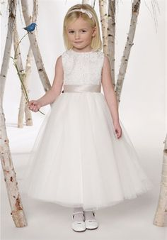 Joan Calabrese by Mon Cheri possible flower girl dress? @Jacqueline Esdale Lather