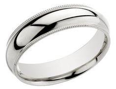 Millgrain Jewellery Las 6mm Milgrain Wedding Band 10 Most Beautiful Rings