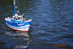 Maquette de bateau de pêche navigant plus de photos sur http://www.modelismenaval-amiens.fr/realisations/
