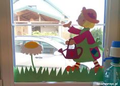 School Window Decorations, Diy Home Crafts, Crafts For Kids, Biscuit, Kids And Parenting, Art Projects, Kindergarten, Paper Crafts, Classroom