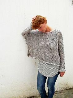 Jersey en color gris