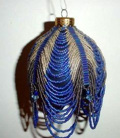 beaded  ornament cover pattern | Contest Gallery at Bead-Patterns.com