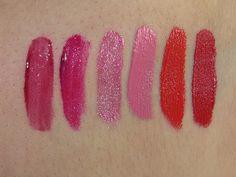 Urban Decay Vice Lipstick Palette Swatches (Sheer Shame, Firebird, Big Bang…