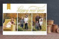 Classic New Year by Yolanda Mariak Chendak at minted.com