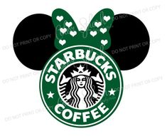 Starbucks Logo, Disney Starbucks, Custom Starbucks Cup, Starbucks Coffee, Wallpaper Iphone Cute, Cute Wallpapers, Starbucks Wallpaper, Silhouette Cameo Files, Disney Decals