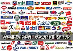 Here is the list of 10 most powerful brands in world according to a survey conducted by Millward Brown's BrandZ index. The survey assigned values to various brands based on their financial strength and consumer sentiment.