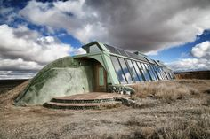 Developed by architect Michael Reynolds in the '70s, Earthships use locally abundant natural materials and trash to create sturdy, off-grid structures.